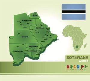 "CRIME FICTION : WORLD TOUR      ""B"" is for BOTSWANA"