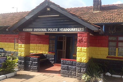 AFRICA'S GREATEST UNSOLVED MURDERS: The colorful Kilimani Police Station, slated to be replaced with a modern, larger facility (Photo: The Star, Kenya)