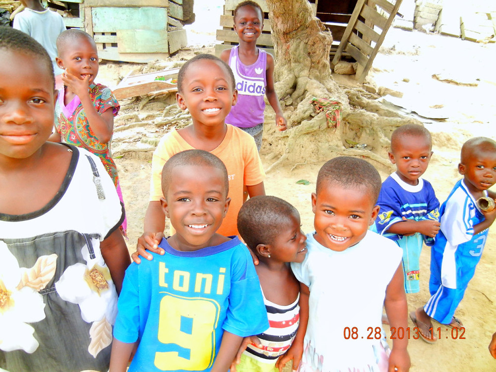 NO ONE ASKED THEM TO SMILE--THEY JUST DID (Photo-of-the-year by Kwei Quartey)