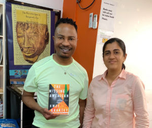 Letter from Ghana: At Vidya Bookstore with owner Heena Karamchandani