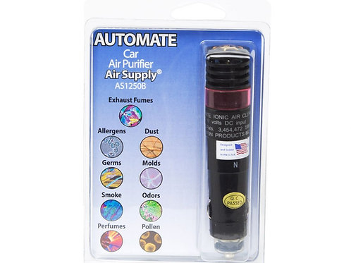 Automate™ AS1250B Vehicle Ionic Air Purifier
