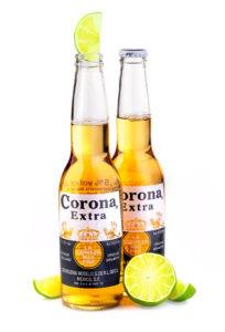 COVID Crimes: Corona and lime (Shutterstock/AlenKadr)