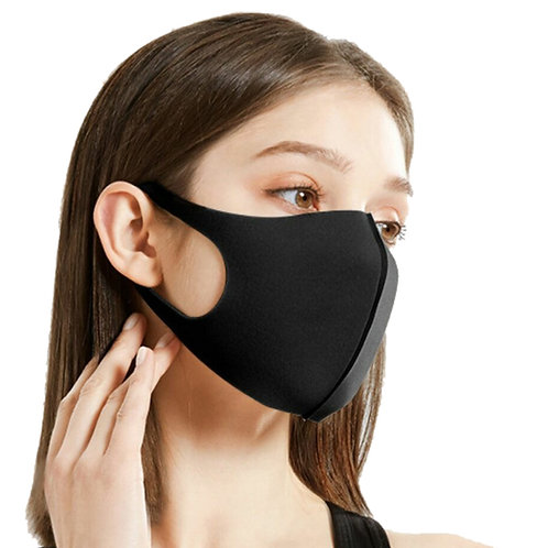 Mouth Cover Fashion Mask For Travel, Daily Use, Washable Reusable