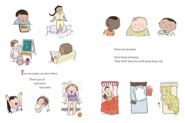© Kimberly Gee Illustration from The Class, by Boni Ashburn and Kimberly Gee, Beach Lane Books, S/S