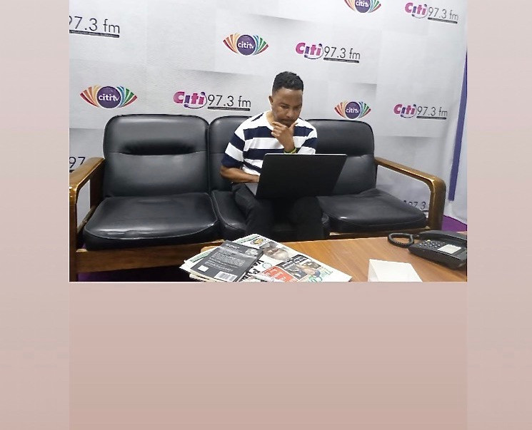 Letter from Ghana: In the green room at Citi FM before the WPG show