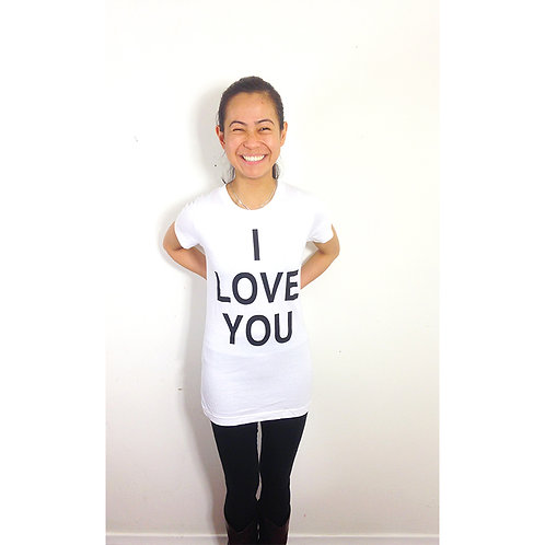Just Love. ILOVEYOU T-SHIRT