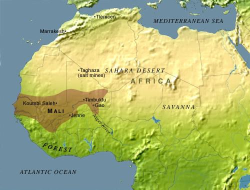African literature, Mali Empire
