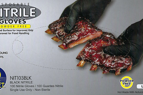 Sunset Nitrile Gloves Powder Free