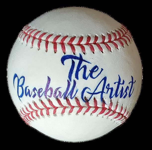 The baseball artist