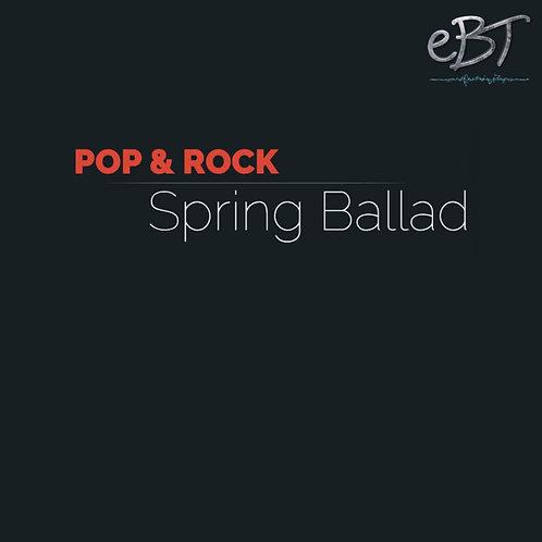 Spring Ballad - Chord Sheet