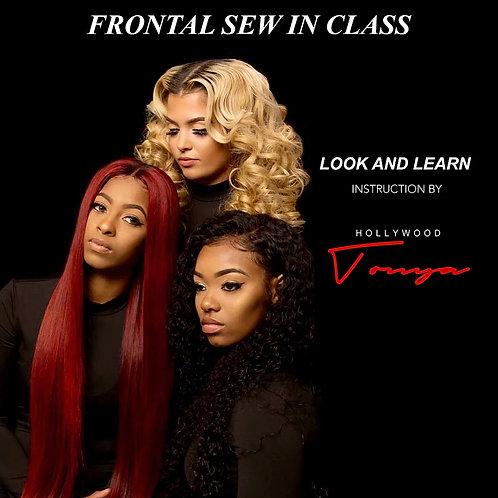 Look & Learn Frontal Sew-in Class