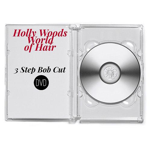 3-Step Razor Cut Bob DVD