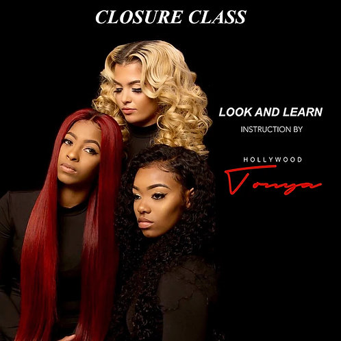 Look & Learn Closure Sew-in Class