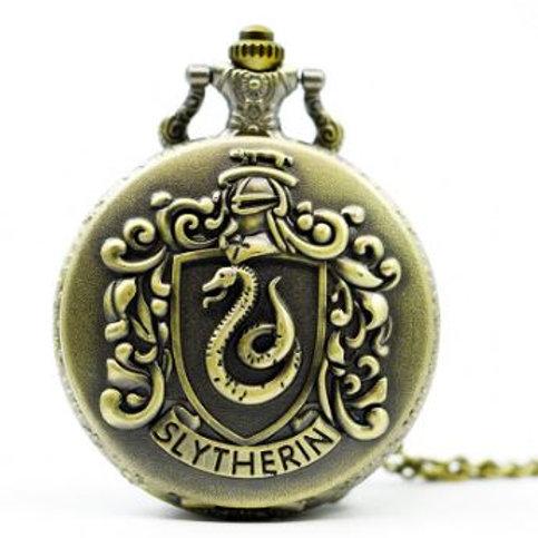 Harry Potter Slytherin Large Pocket Watch