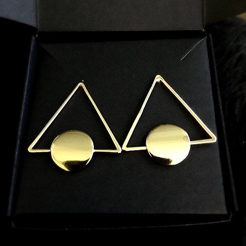 Triangle Stainless Steel Earrings