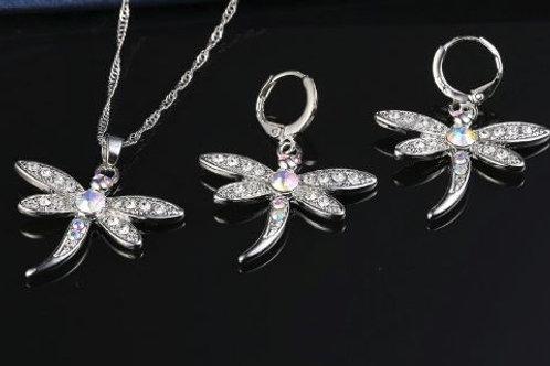 Iridescent Dragonfly Set