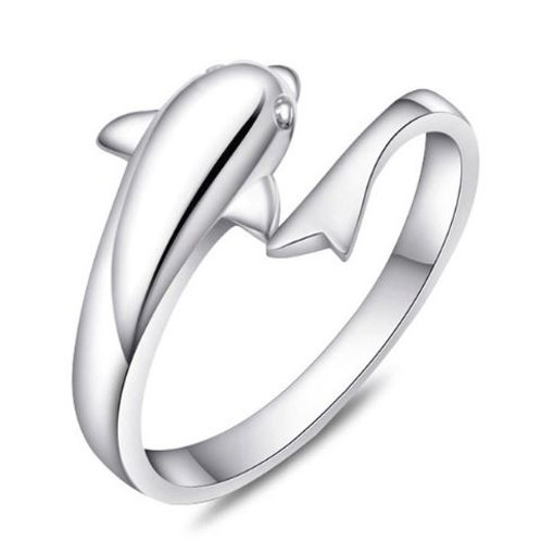 Dolphin Adjustable Ring