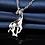 Thumbnail: Gem Giraffe Necklace