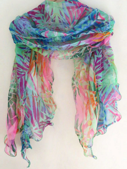Under the Sea Layered Scarf