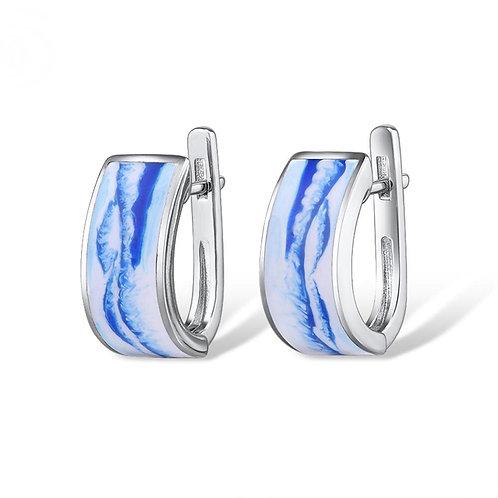 Water Wave Earrings
