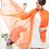 Thumbnail: Bold Orange Scarf Vest