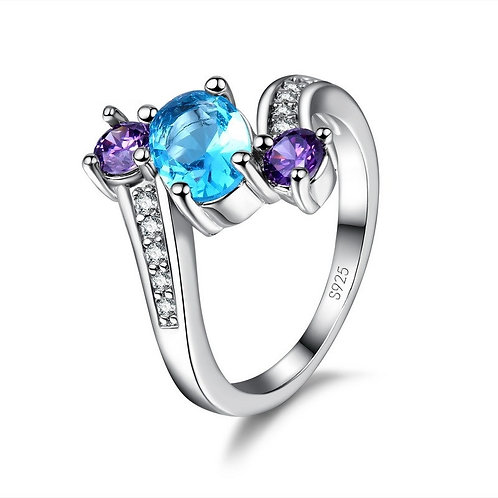 Past, Present, Future Vertical Ring