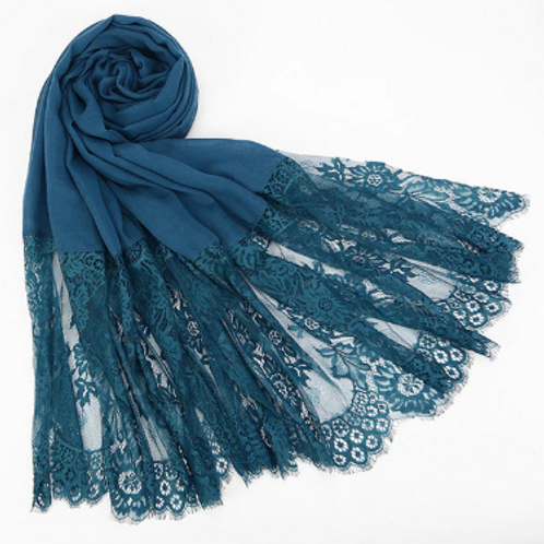 Chantilly Lace - Teal