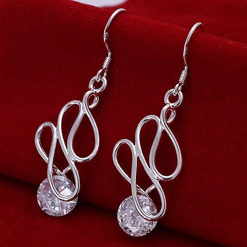 Ribbons & Ice Earrings