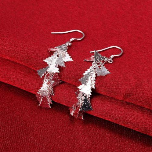 Christmas Tree Dangle Earrings