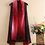 Thumbnail: Flower Power - Red Ombre and Black Scarf Vest