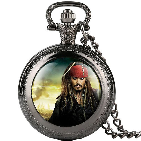 Pirates of the Caribbean Small Pocket Watch