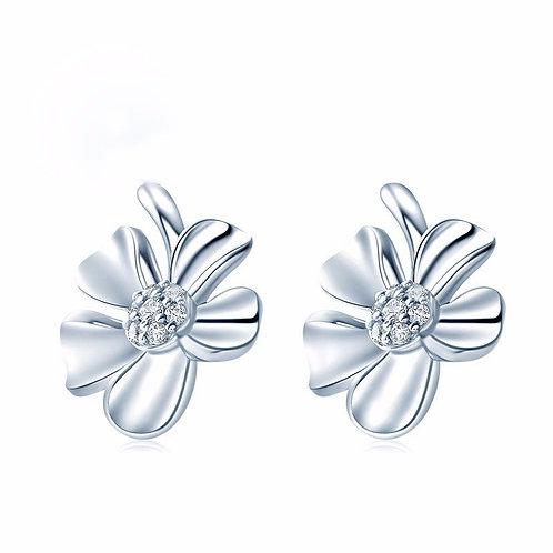 Small Flower Stud Earrings