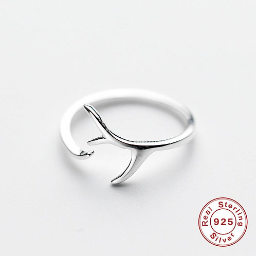 Antler Adjustable Ring
