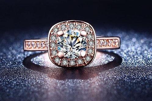 "Halo ""Diamond"" Ring"