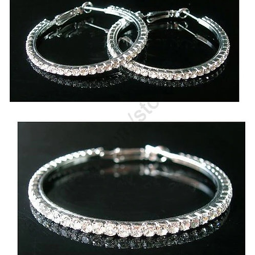 Sparkle Hoops 50mm