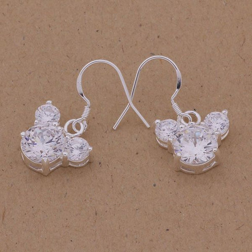 Mickey Mouse Sparkle Earrings