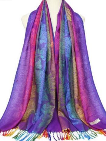 Ethnic Rainbow Scarves