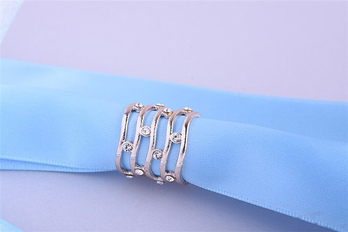Waves & Stones Tube Scarf Ring