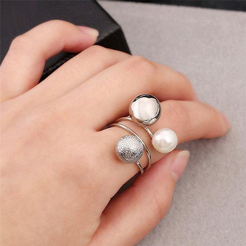 Korean Design Open Wrap Ring