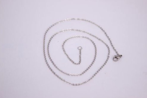 """Stainless Steel 18"""" Chain"""
