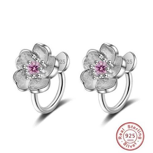 Cherry Blossom Ear Cuffs