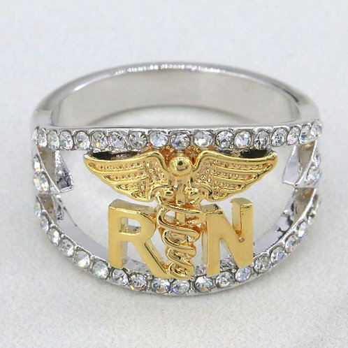 RN Symbol Two-Tone Ring