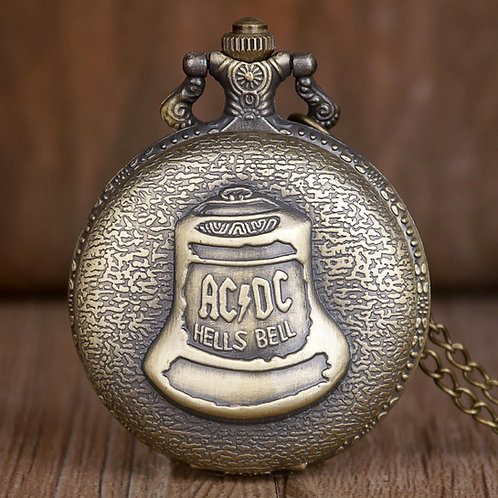 ACDC Hells Bell Large Pocket Watch