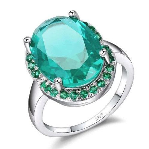 Caribbean Sea Halo Ring