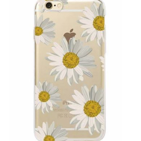 Small Daisy Clear Case