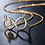 Thumbnail: 24K Gold Colour Infinity Necklace