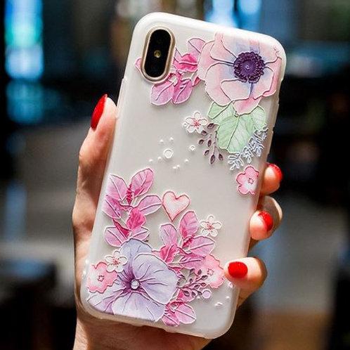 Flowers & Hearts Case