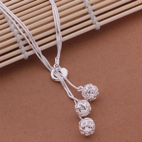 Bound Heart Globes Necklace & Bracelet