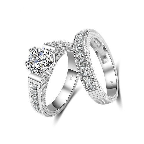 Textured Bridal Set