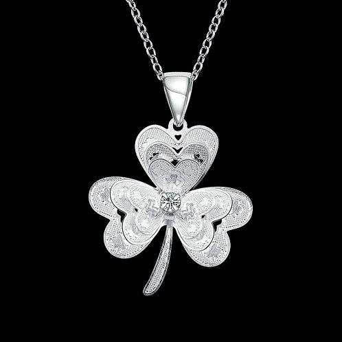 Uplifting 3 Leaf Clover Necklace